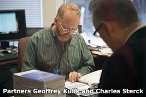 CPA's Geoffrey Kulik and Charles Sterck