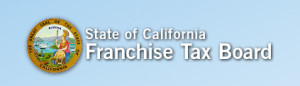 Franchise Tax Board Website top screen scrape