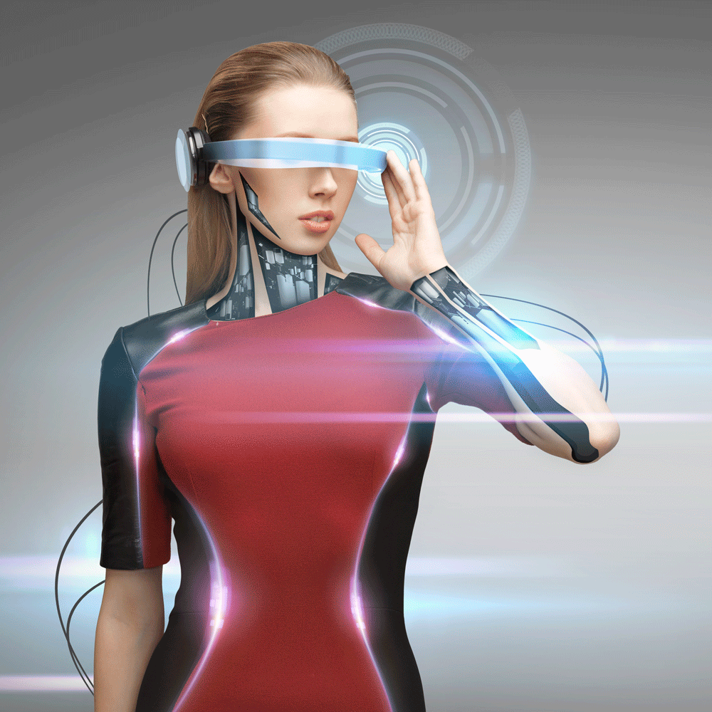 Bionic Woman of the Future